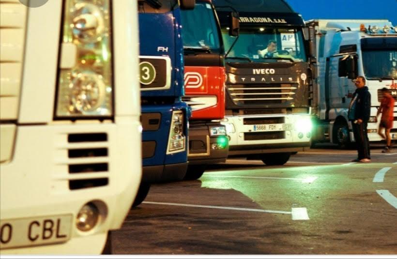 camiones preparados para circular